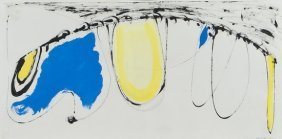 21: Sir Terry Frost (1915-2003) Composition in Blue an