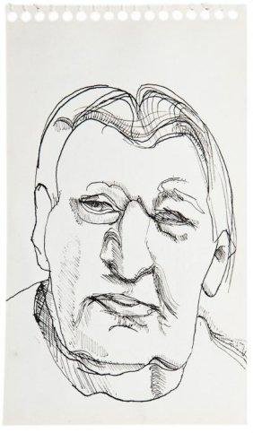 26: Lucian Freud (1922-2011) Portrait of Ernst L. Freu