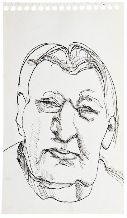 26: Lucian Freud (1922-2011) Portrait of Ernst L. Freu