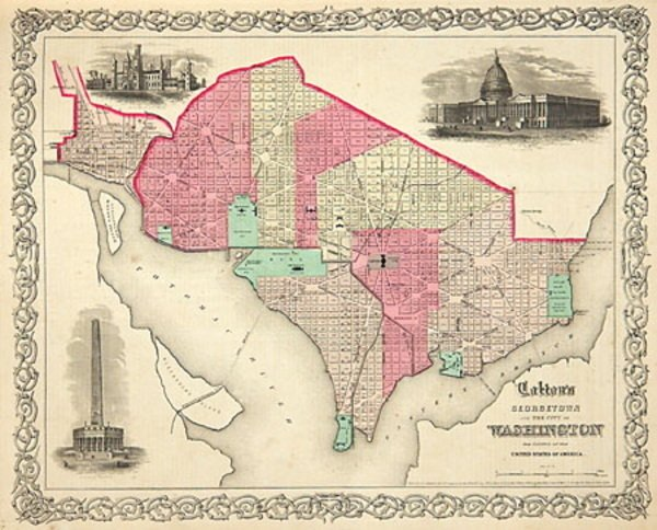 10C: Colton's General Atlas