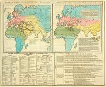 278C Lavoisne CV Chart of the World