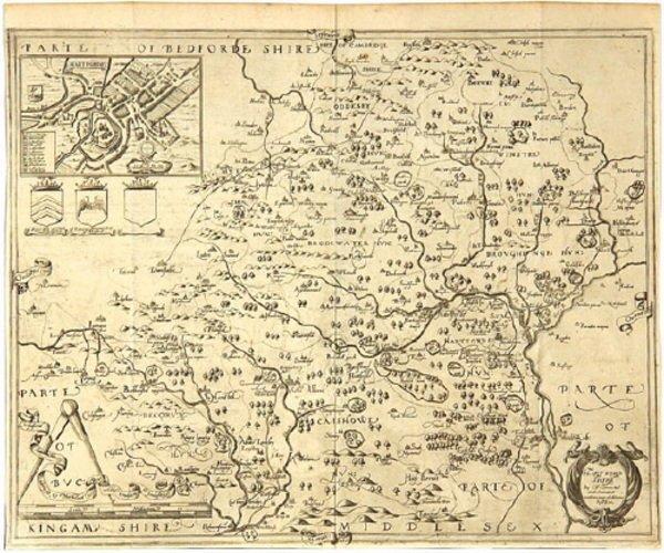 337C: Saxton (Ch.) & Philip Lea. Hartfordshire