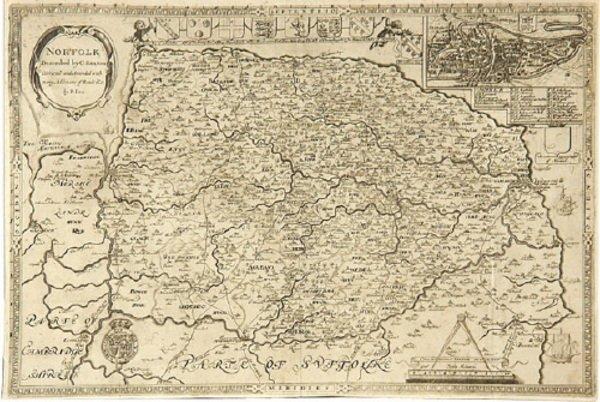 375C: Saxton (Christopher) & Philip Lea. Norfolk