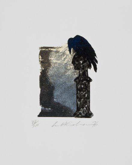 1: Ivor Abrahams (b.1935) Edgar Allen Poe