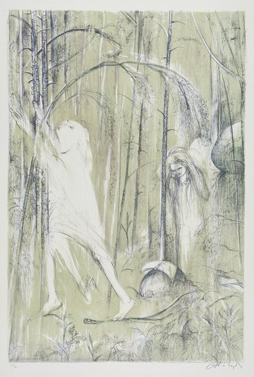 6: Arthur Boyd (1920-1999) St Francis In The Woods