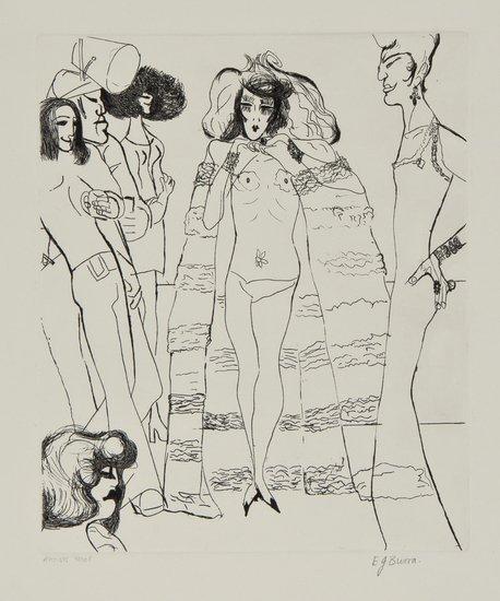 8: Edward Burra (1905-1976) Drag Queens