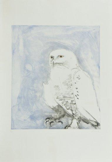 10: Elisabeth Frink (1930-1993) Snowy Owl (W.116)