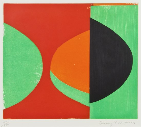 14: Sir Terry Frost (1915-2003) Camberwell Green (K.21