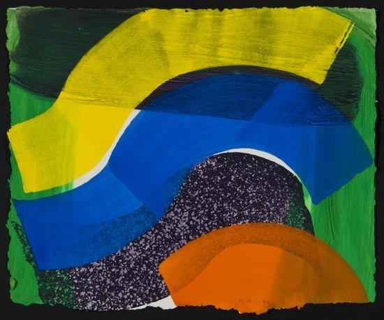 18: Howard Hodgkin (b.1932) Put More Flags Out (c.90)