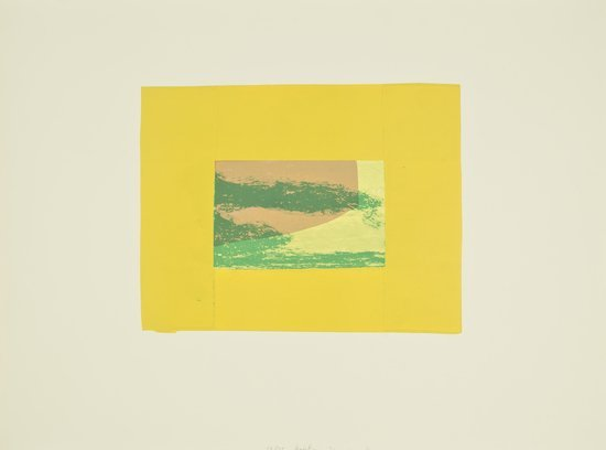 21: Howard Hodgkin (b.1932) Indian View F, from 'India
