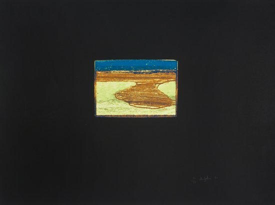 23: Howard Hodgkin (b.1932) Indian View L, from 'India