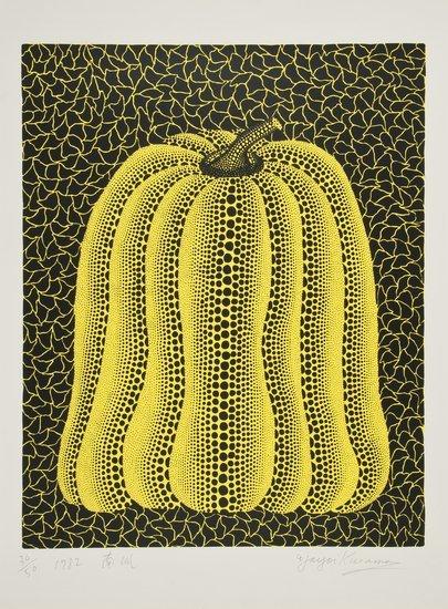 230: Yayoi Kusama (b.1929) Pumpkin (k.16)