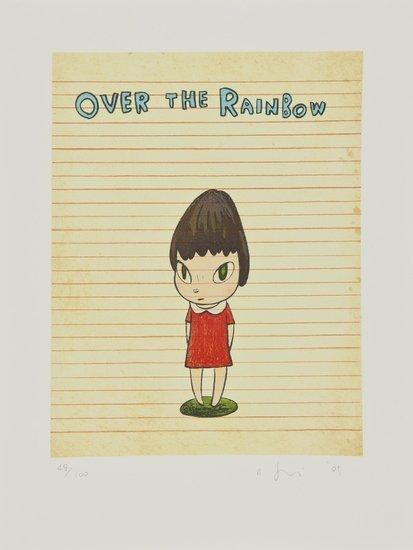256: Yoshitomo Nara (b.1959) Over the Rainbow