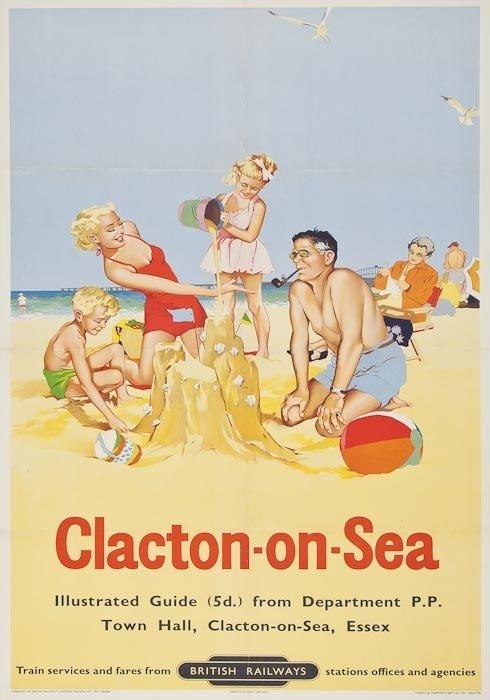 4: ANONYMOUS CLACTON-ON-SEA, British Railways