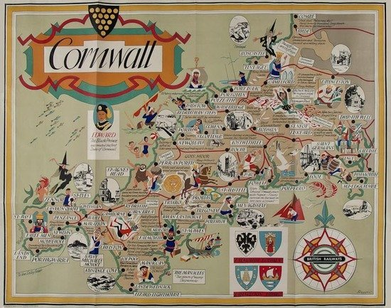 8: BOWYER CORNWALL, British Railways