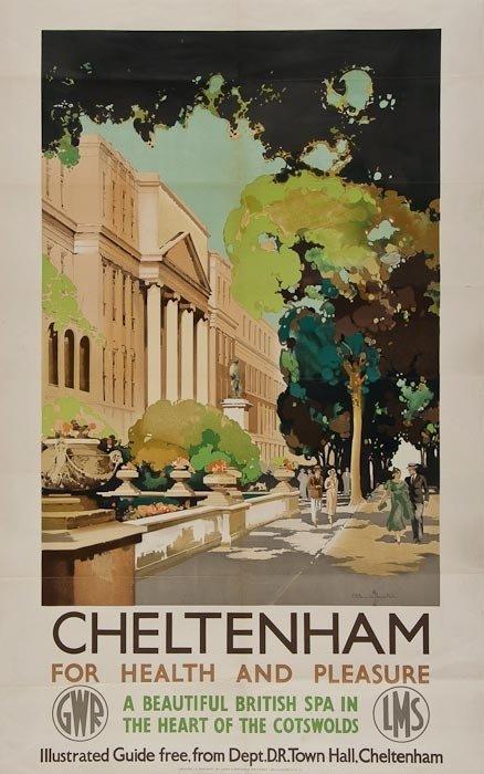 11: BUCKLE, Claude CHELTENHAM, GWR, LMS