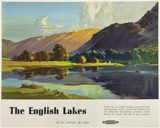 12: BUCKLE, Claude H. RI. (1905-1973) THE ENGLISH LAKES