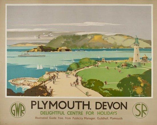 13: BUCKLE, Claude H. RI. PLYMOUTH, Devon GWR, SR