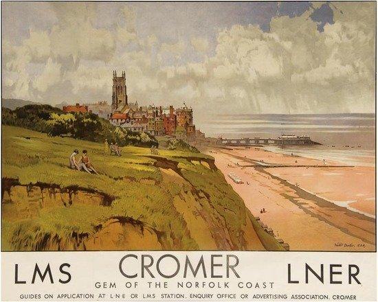21: DEXTER, Walter ARA (1876-1958) CROMER, LMS, LNER