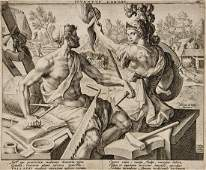 174 A mixed group of old master prints
