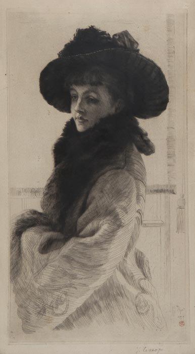 337: James Jacques Joseph Tissot (1836-1902) Mavourneen