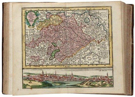 413: Germany.- Atlas Portatilis Germanicus
