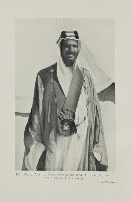 8: (Maj.-Gen. Sir Percy Z.) In Unknown Arabia, first