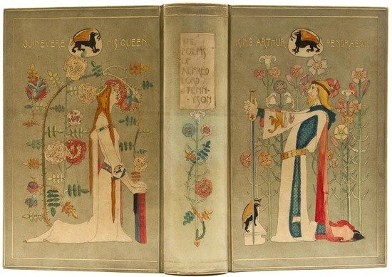 485: Chivers Vellucent Binding.- Tennyson,