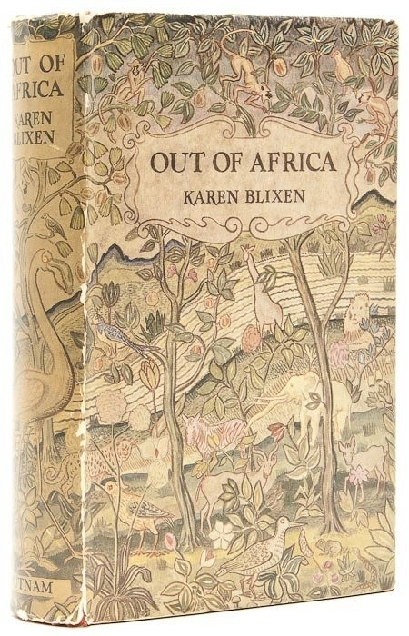 496: Blixen (Karen) Out of Africa