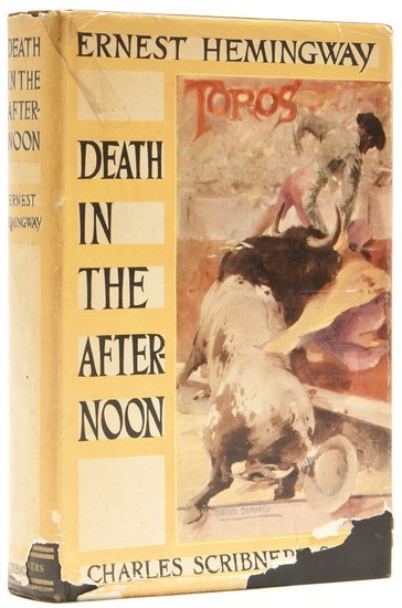 415: Hemingway (Ernest) Death in the Afternoon