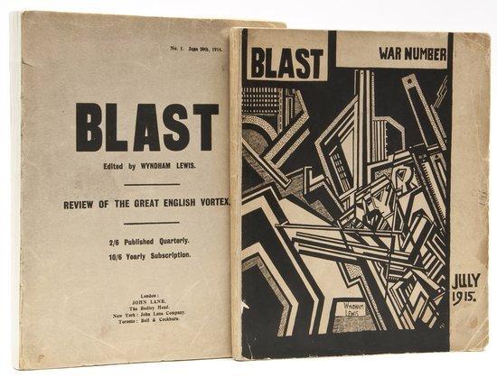 433: (Wyndham, editor) Blast, No.1 & 2 (all published)