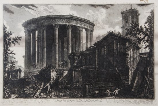 178: Giovanni Battista Piranesi (1720-1778) Veduta del