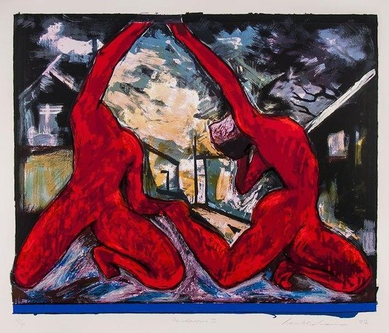 2: Ivor Abrahams (b.1935) The Seasons II