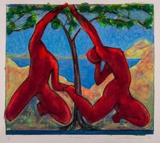 3: Ivor Abrahams (b.1935) The Seasons I