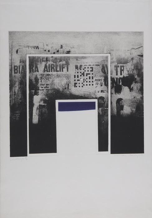 4: Norman Ackroyd (b.1938) Landscape