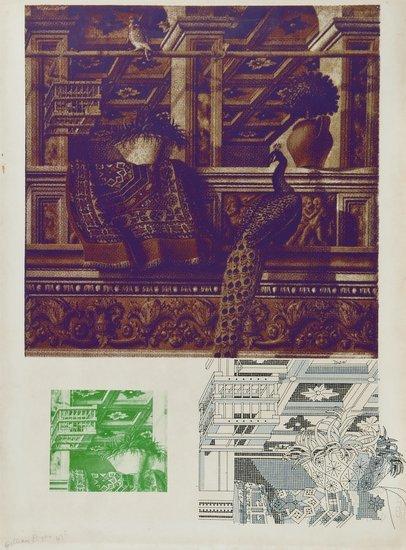 6: Gillian Ayres (b.1930) Crivelli's Room II