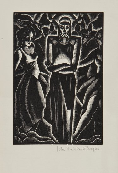 9: John Buckland-Wright (1897-1954) Edgar Allen Poe: