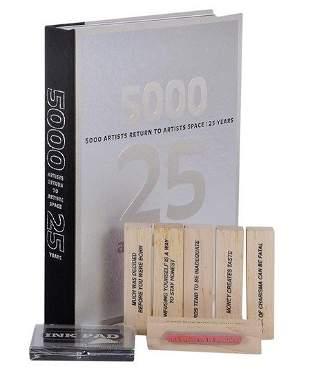 305: Jenny Holzer (B.1950) Stamp Set (+ a book)