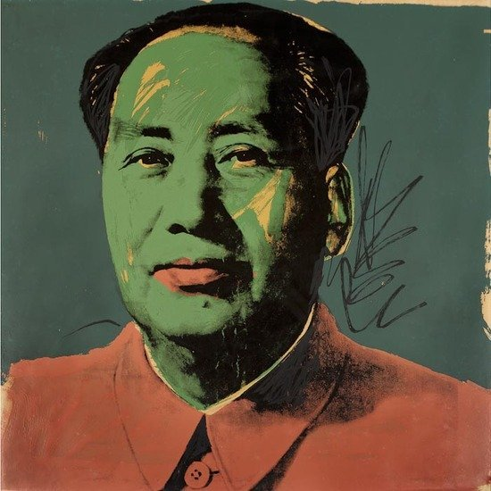 264: Andy Warhol (American, 1928-1987) Mao (F. & S. II.