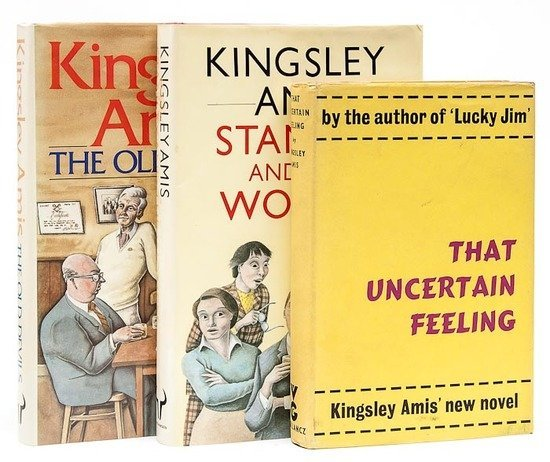 11: Amis (Kingsley) That Uncertain Feeling