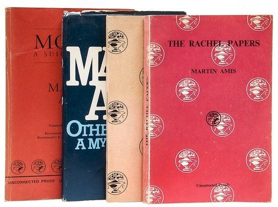 13: Amis (Martin) The Rachel Papers