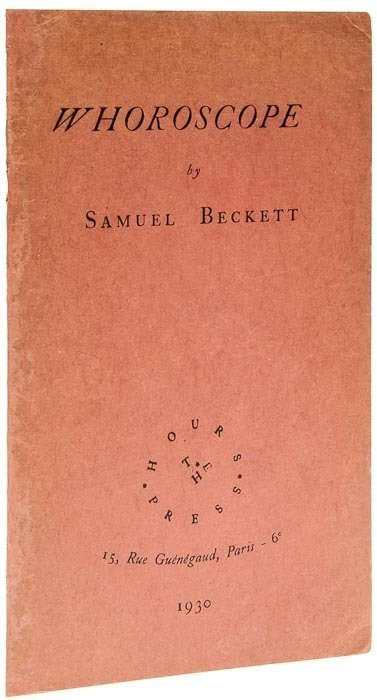 24: Beckett (Samuel) Whoroscope