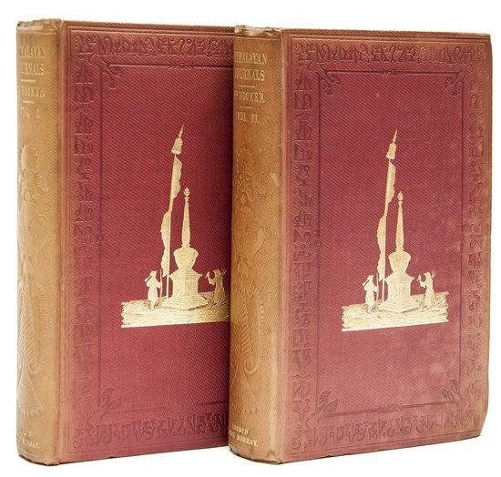 23: Tibet.- Hooker (Joseph Dalton) Himalayan Journals;