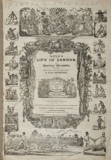 5: [Advertisement for 'Bell's Life in London, and Sp