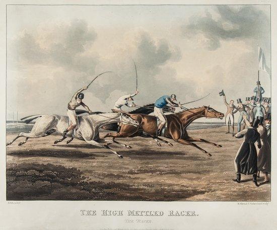 9: Alken (Henry) The High Mettled Racer