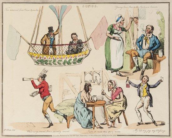 12: Alken (Henry) Illustrations to Popular Songs