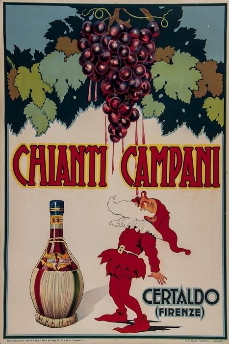 10: ANONYMOUS CHIANTI CAMPARI