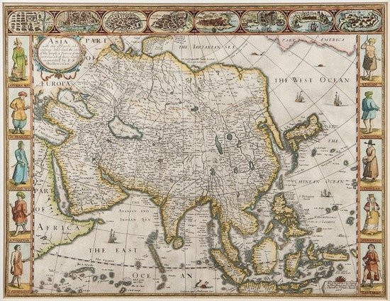 309: Speed (John) Asia with the Islands adioyning descr