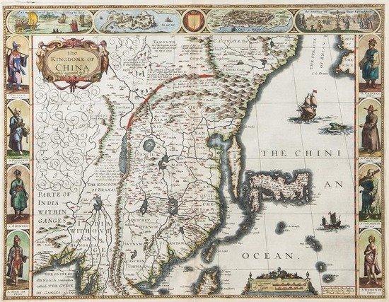 310: Speed (John) The Kingdome of China, newly augmente