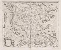 328 Blaeu Willem Macedonia Epirus et Achaia